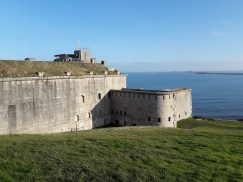 Forte overlooking the sea