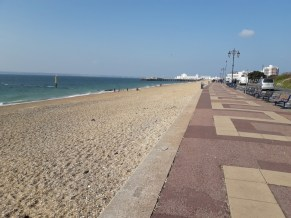 Beach sea prom