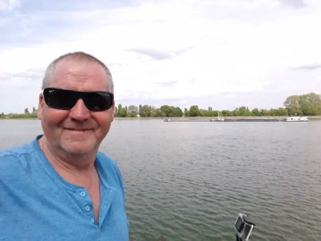 Man Barge water