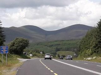 The Derrynasaggart Mountains