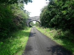 The cycle route into Chester