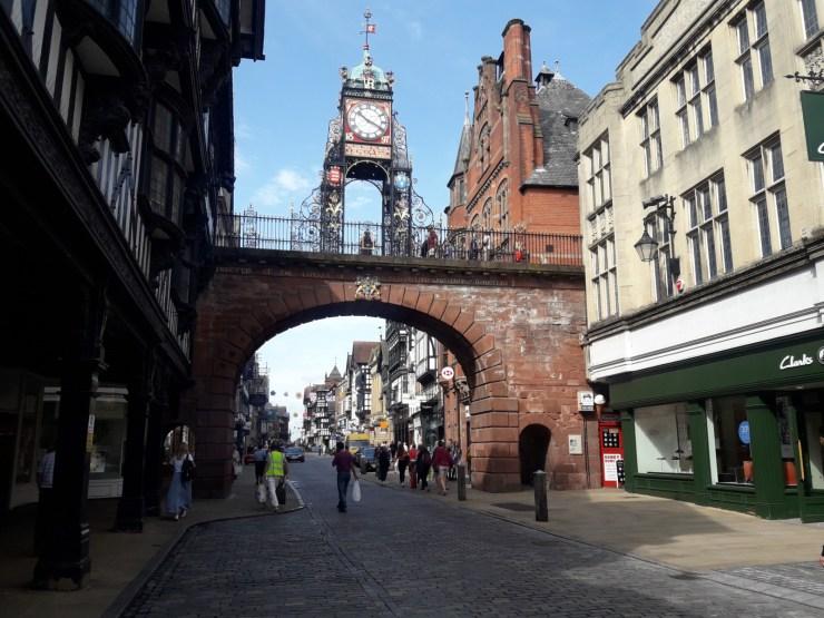 Clock arch
