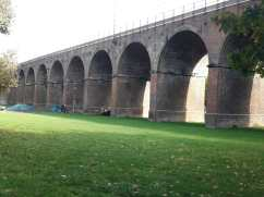 The viaduct in Central park, Chelmsford