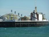 fun fair on Brighton pier