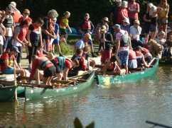 Hunston canoe club taster day
