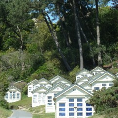 Beach huts at Canford Cliffs