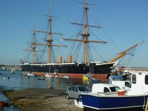 HMS Warrior, Portsmouth