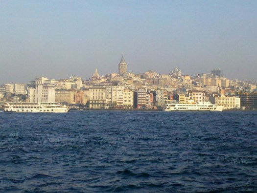 Istanbul from the ferry