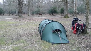 Hilleberg in the New Forest
