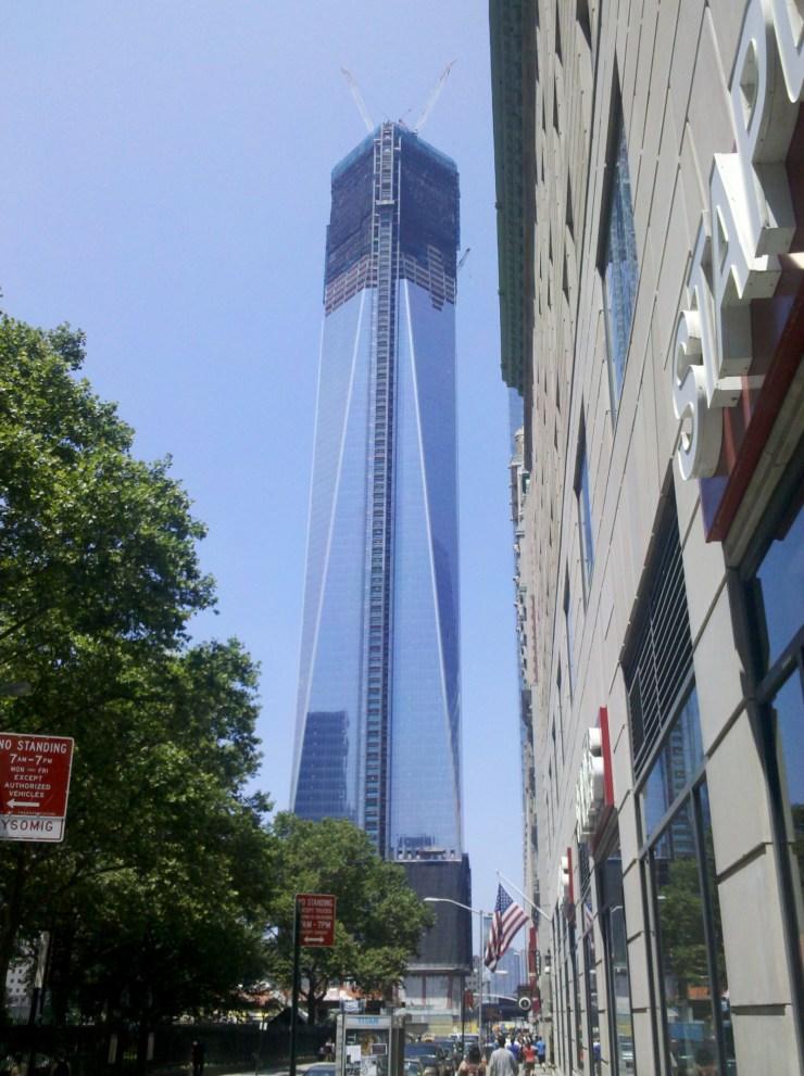 New world trade centre New York