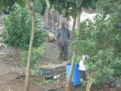 Local teacher in Malsne who also had a little small holding where he grew some crops