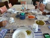 Garry was invited to breakfast with a family in Dhule one day