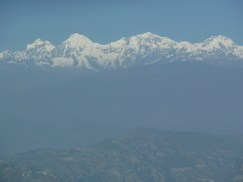 More snow capped mountains