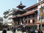 Temple on the way into Durbar Square Kathmandu
