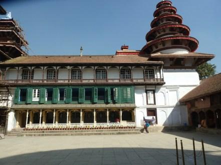 Pancha Mukhi Hanuman temple Durbar Square Kathmandu.