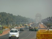 Looking towards India Gate from Raisina Hills