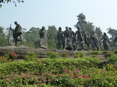 Statue in Delhi in memory of the countless Indians who generation after generation struggled and sacrificed against foreign rule