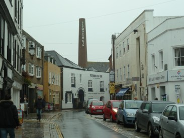 Plymouth distillery