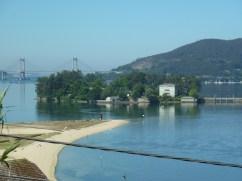 San Simon in the bay of Vigo