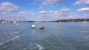 The river Hamble