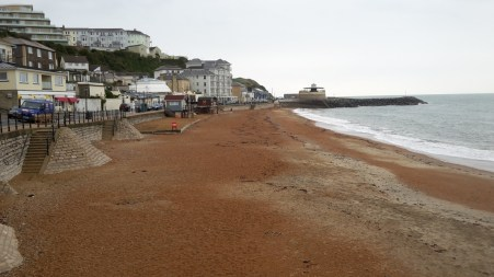 Ventnor seafront Isle of Wight