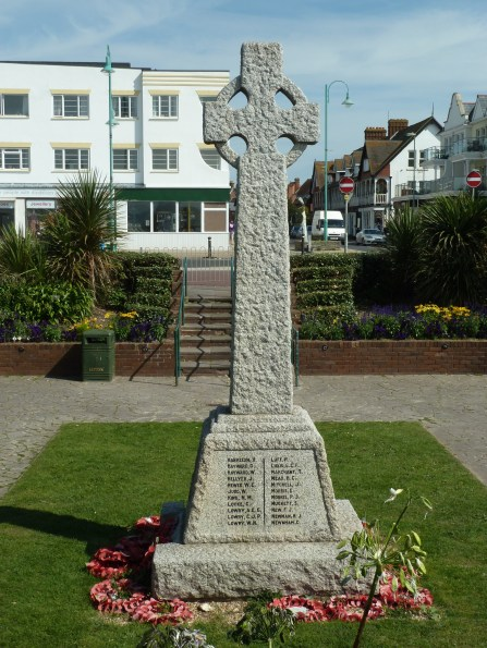 War memorial at Lee-on-Solent