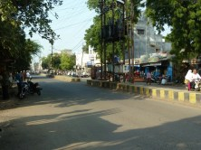 Road in Dhule.