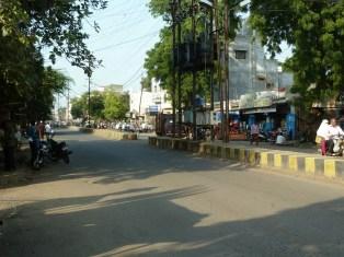 Road in Dhule.