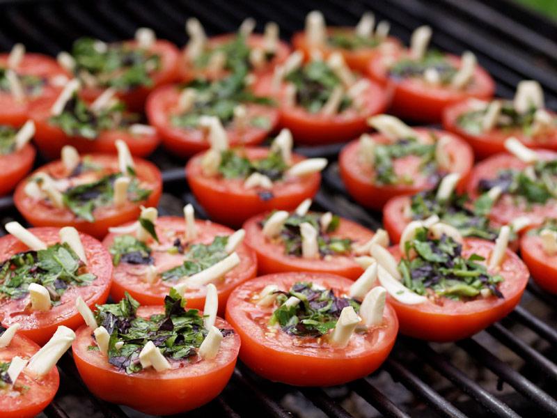 Grilēti tomāti Bendika gaumē