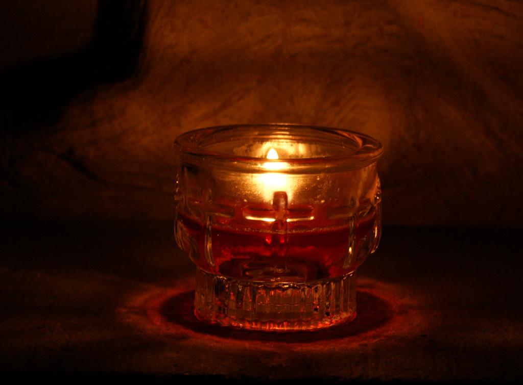 Allerheiligen Kerze