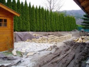 Tenneberg Baustelle