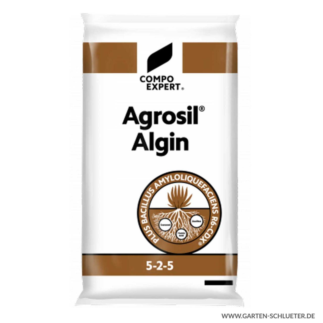 Spezialdünger und Bodenaktivator - Compo Expert® Agrosil® Algin 5-2-5 - 25 kg