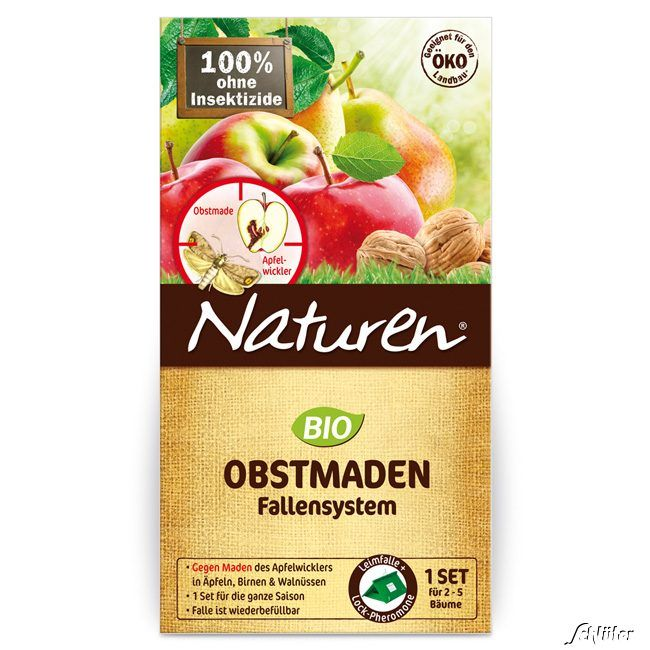 SUBSTRAL Celaflor Naturen® - Obstmaden-Falle