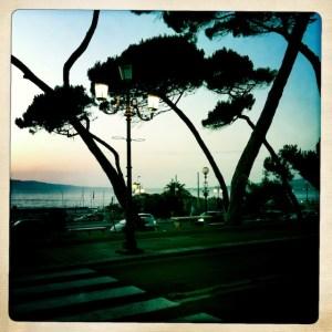 Street view in Reggio di Calabria