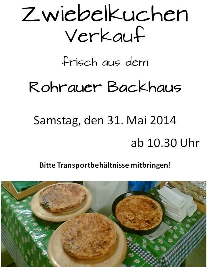Zwiebelkuchen-Verkauf 2014