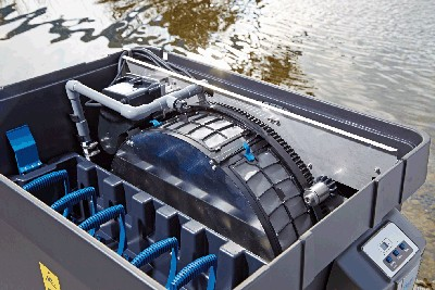 Trommelfilter BioTec Premium 80000 Trommelfiltertechnik
