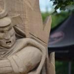 Holzfiguren Fur Den Garten Geschnitzte Skulpturen Tiere Carving Cup