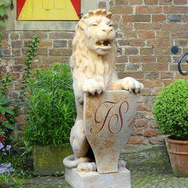 Gartenfigur aus Steinguss - Leobald
