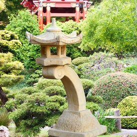 Japanische Laterne aus Steinguss - Kaito