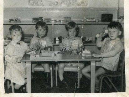 Nursery, Victoria Street, Pontycymmer - 1958