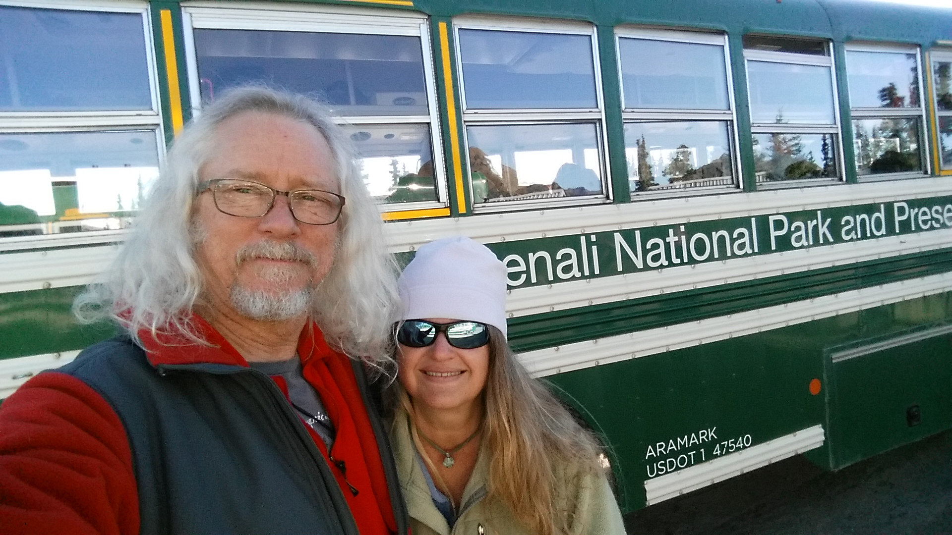 Gary, Darlene and the Denali Bus
