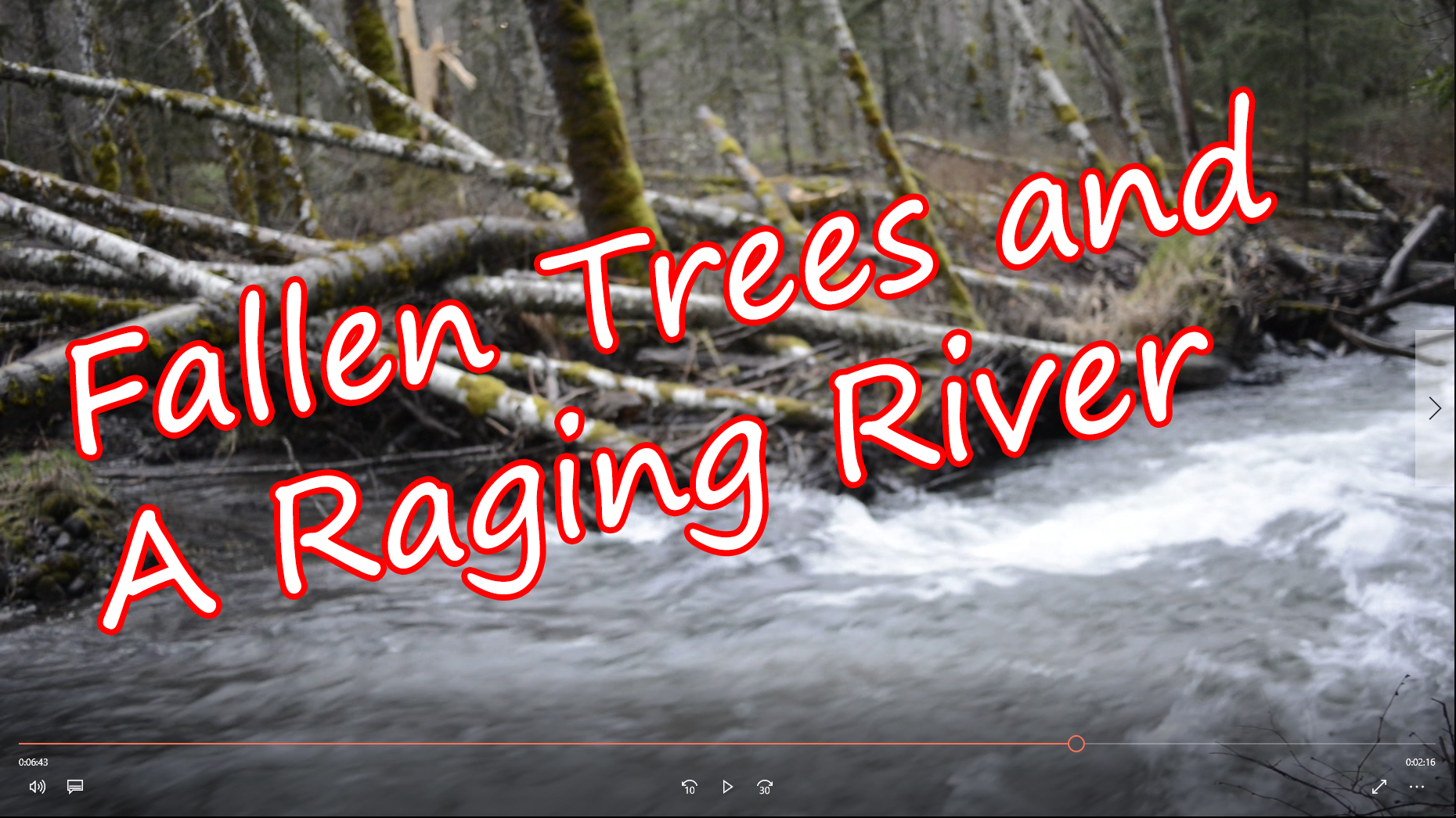 Down By The Raging River
