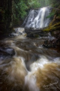 Yocum Falls Mount Hood National Forest.