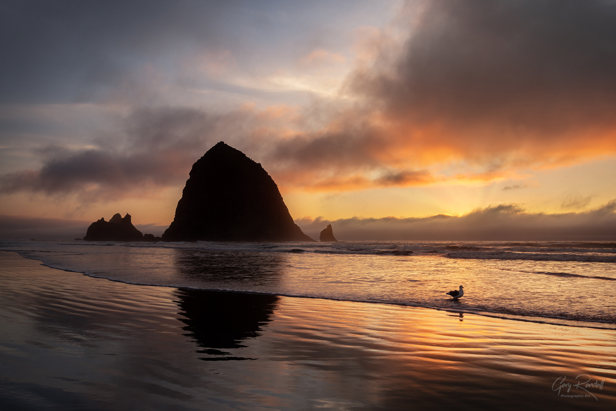 Cannon Beach Oregon Sunset