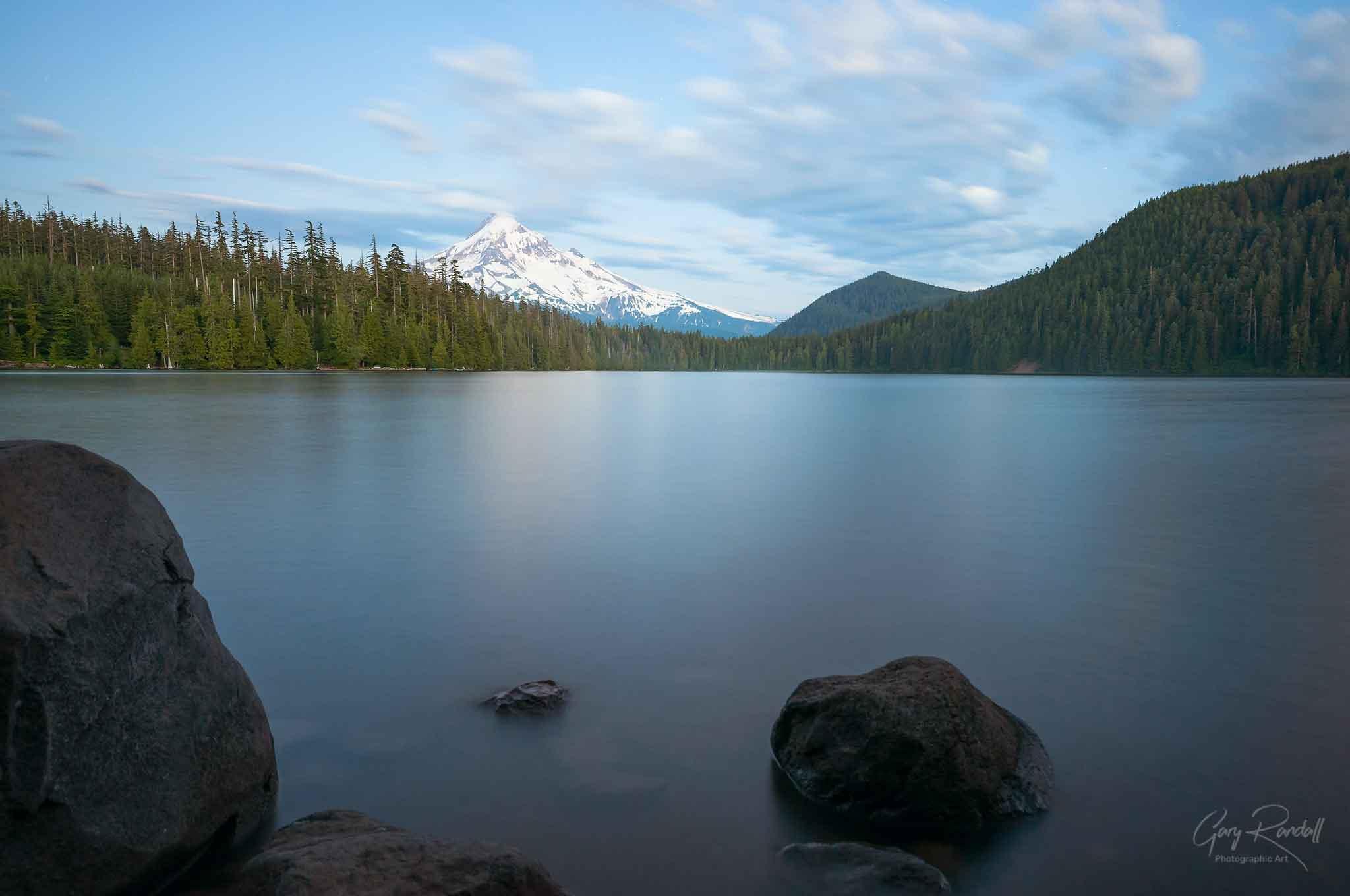 Mount Hood at Lost Lake Oregon