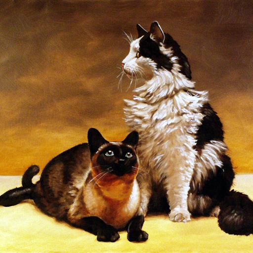 Ziba and Cloe. Oil portrait. Gary Whitley.