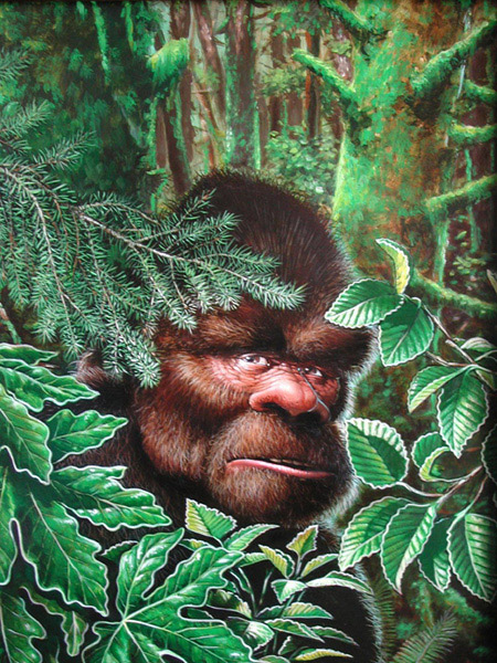 Bigfoot by Gary Whitley.
