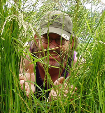 Me in the weeds looking for ducks to shoot...with a camera.