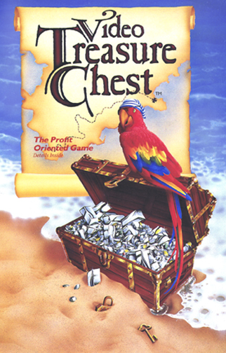 Video treasure chest parrot. Airbrushing is fun!