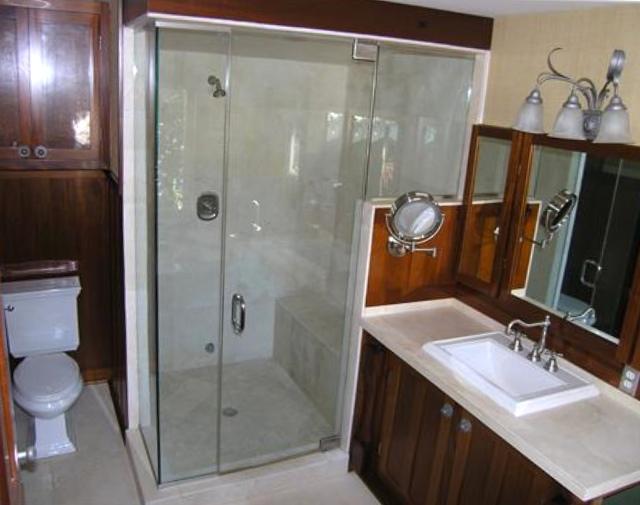 Mahogany Master Bath